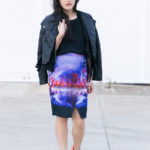 Lake At Sunset – Statement Skirt