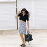 Stripe Out – Striped Pencil Skirt