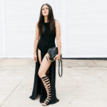 All Black Festival Outfit