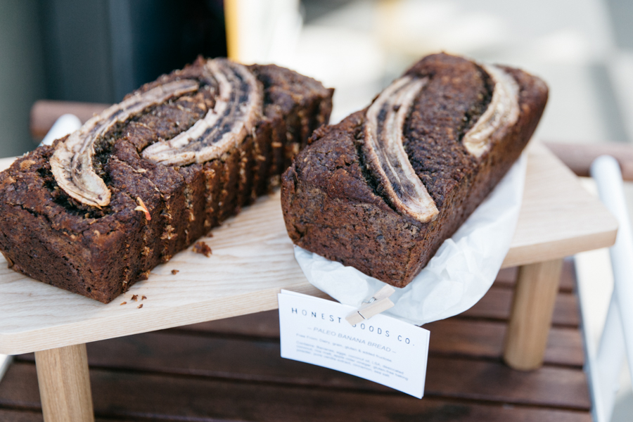 Honest Goods Company, Perth paleo banana bread.